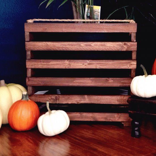 Crates are pretty popular right now in home decor and these DIY egg crates have a different look that stands apart from other crates!
