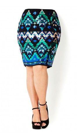Plus Size Sequin Skirt Womens Fashion Unique Style Inspiration ...