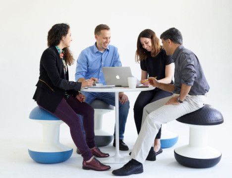 Perfect Balance: Active Stool Works Your Core at the Office