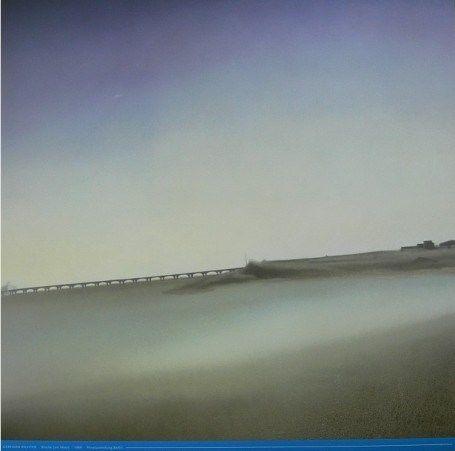 """Gerhard Richter: """"Brücke am Meer"""", Offsetdruck, 60.0 x 60.0 cm, nach dem gleichnamigen Ölgemälde von 1969, Catalogue Raisonné: 202."""