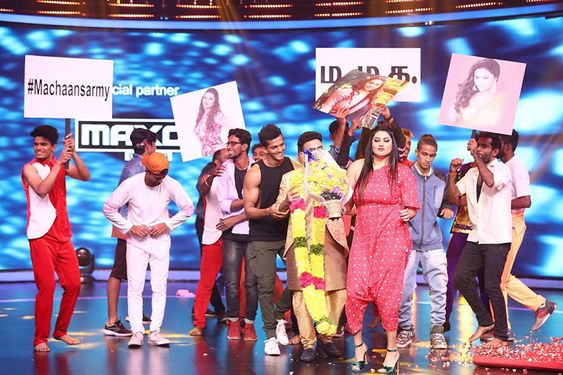 South Indian beauty Namitha joins Dance Vs. Dance as a special guest
