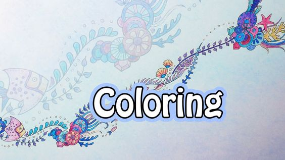 Coloring Book Journey - 005 Lost Ocean by Johanna Basford