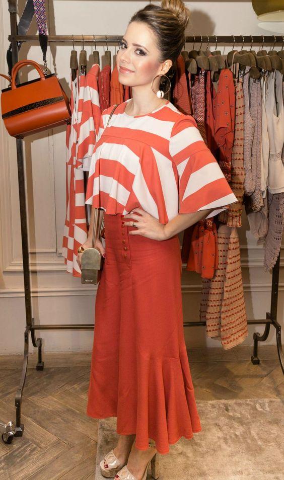 Calça pantacourt para baixinhas: veja como Sandy usa a peça da moda + preço do look - Vix