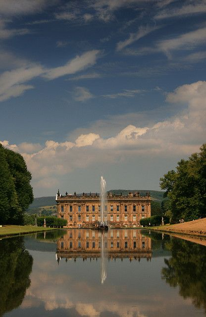 Chatsworth House is a stately home in the county of Derbyshire in the East Midlands region of England