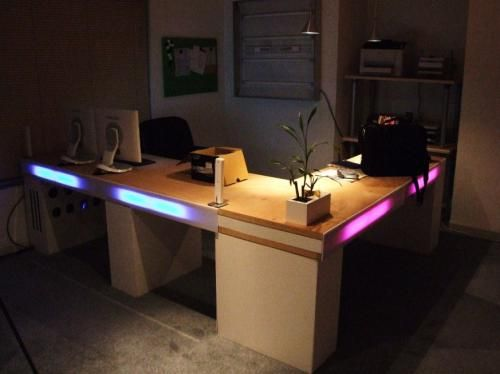 Homemade Office Desk homeade desk | office ideas | pinterest | desks, homemade  desk and