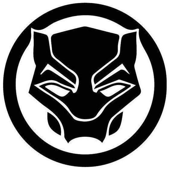 black panther logo design |black panther logo download vector|marvel  artwork | black panther drawing, black panther marvel, avengers symbols  pinterest
