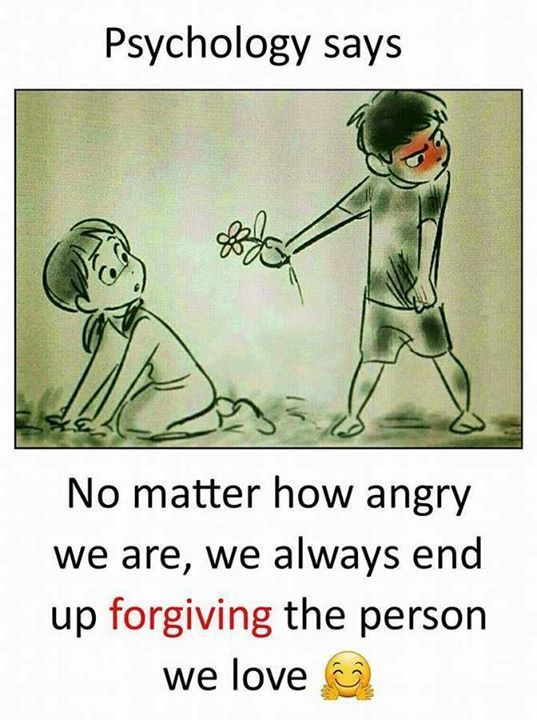 Yes we forgive but we don't forget