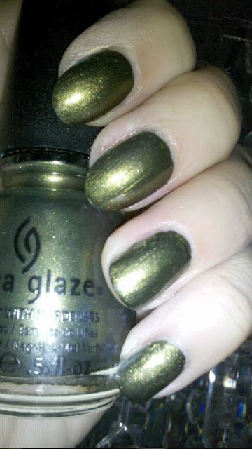 "Agro (District 11 - Agriculture) by China Glaze ""Capital Colours"", The Hunger Games Collection"
