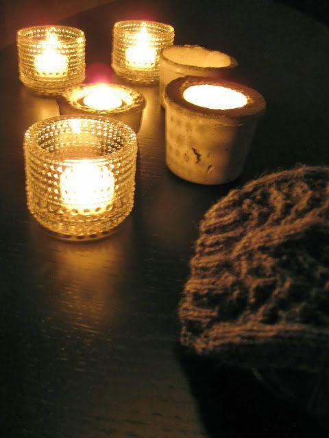 Kotivalossa -blogi, candles
