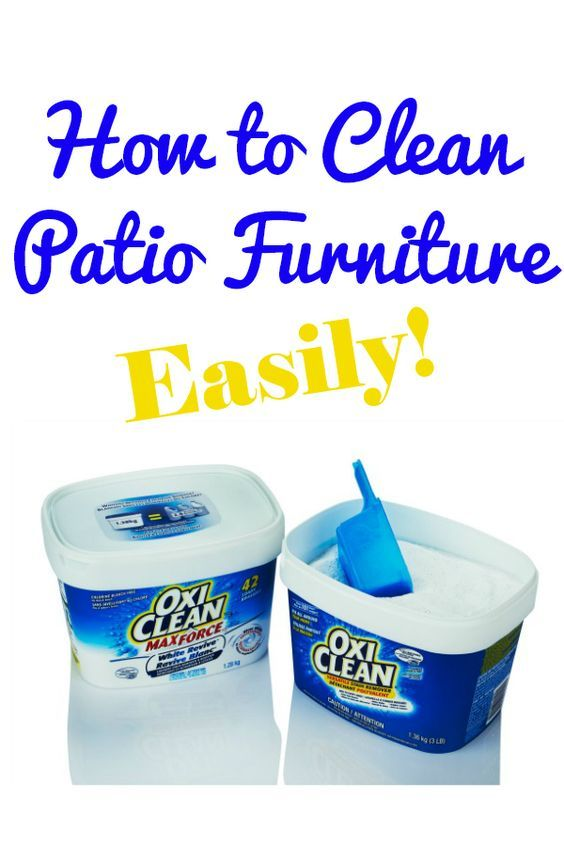 Patio Cleanses and Furniture on Pinterest