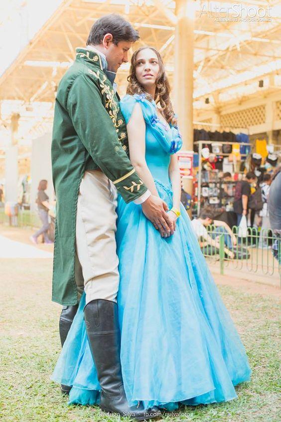 Cosplay Cinderella & Kit 2015