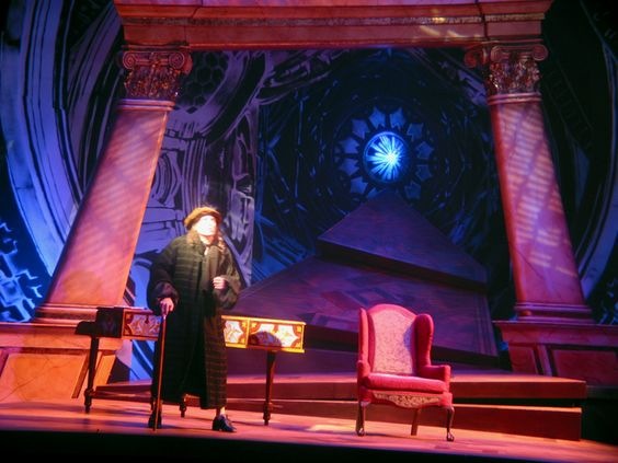 Amadeus. Huntington Theatre. Scenic design by Anita Fuchs, lighting by Joshua Schulman. 2002