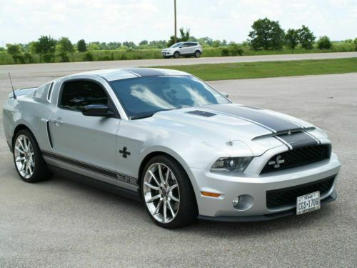 2010 Ford Mustang Shelby Gt500 Super Snake With Images Mustang