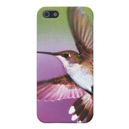"""iphone4 case """"Cherish"""" Hummingbird Cases For iPhone 5"""