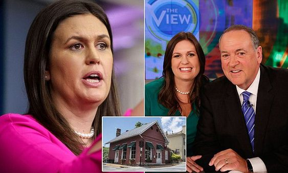 Mike Huckabee says liberal Red Hen owners harassed daughter even more