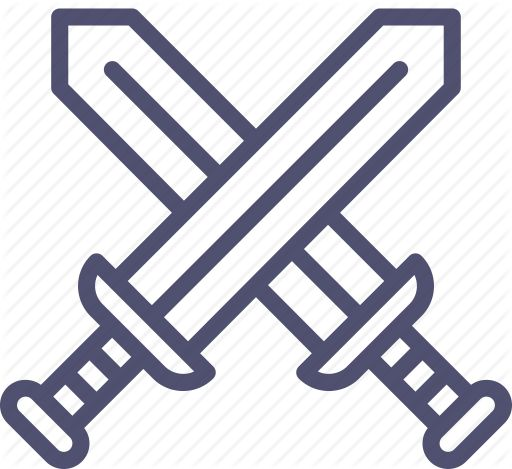 Attack, battle, military, swords icon | Icon search engine