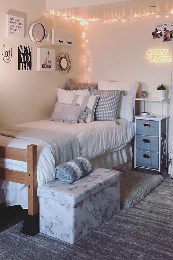 Dormitory College Bedroom House Furniture Bed Frame Dorm Room