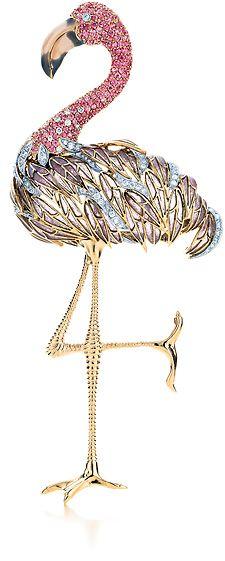 Tiffany & Co. flamingo:
