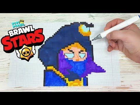 Kovarnyj Mortis Iz Igry Brawl Stars Risunki Po Kletochkam Pixel Art Youtube In 2020 Pixel Art Pixel Rogues