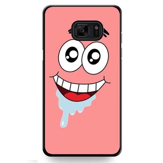 Spongebob Patrick Star Crazy TATUM-9907 Samsung Phonecase Cover For Samsung Galaxy Note 7