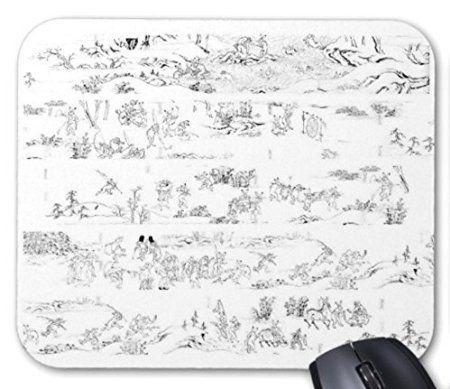 国宝・鳥獣人物戯画のマウスパッド 2:フォトパッド( 日本の名画シリーズ )