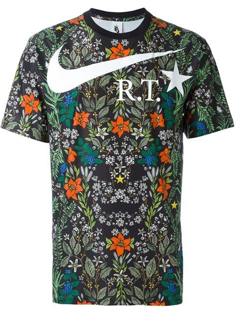 NIKE Nikelab X Rt Floral T-Shirt. #nike #cloth #t-shirt