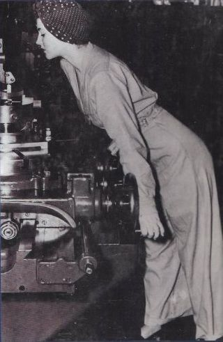 "Geraldine Doyle, who was the inspiration behind the famous ""Rosie the Riveter"" poster."