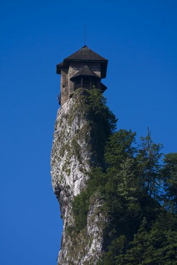 Lookout tower at Orva Castle, Slovakia. Another great example of ...