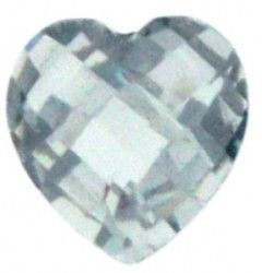April Birthstone Heart