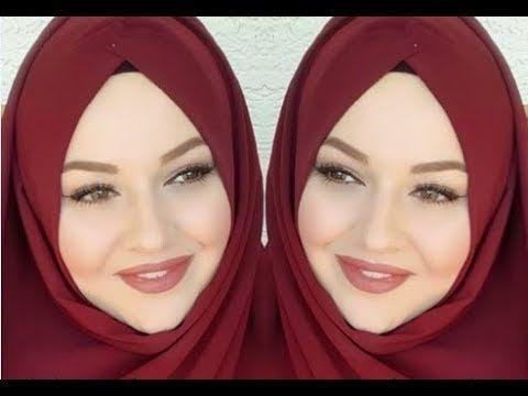 لفات حجاب لفات طرح وطرح سواريه 65 بسيطة جذابة وأنيقة Youtube Youtube