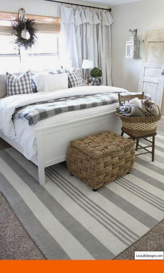 Bedroom Wall Panel Design Ideas And Bedroom Decor Ideas 2018 Bedroomdecoratingi Farmhouse Style Master Bedroom Rustic Farmhouse Bedroom Master Bedrooms Decor