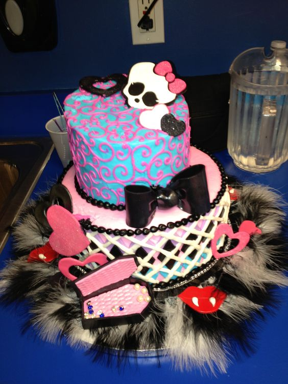 Bailee's 9th birthday cake