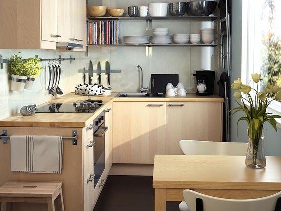Diseño de #cocinas #pequeñas #linea3cocinas #madrid http://www ...