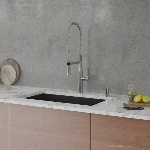 Forteza Kraus 32 X 19 Undermount Granite Composite Kitchen Sink