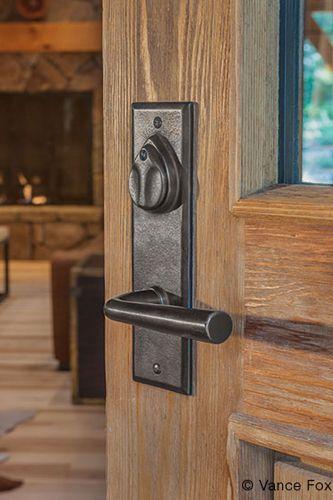 Original Bevel Edge Lever Door Hardware from Sun Valley Bronze | WestEdge 2014