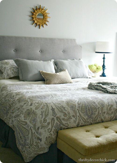 Diy Glossy Blue Master Bedroom Lamp Diy Master Bedroom