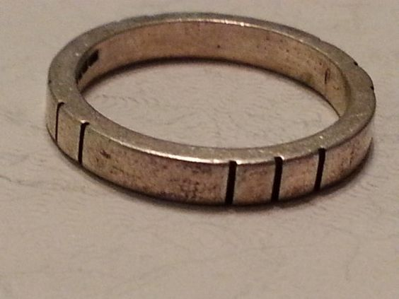 Sterling Silver Wedding Band Ring Flat 925 Mens by MyYiayiaHadThat, $25.00