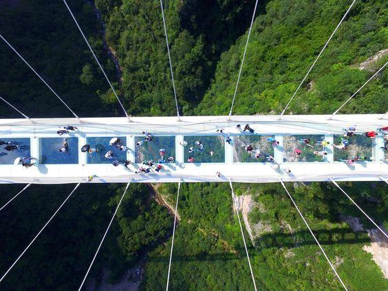 Grand Canyon glass bridge china