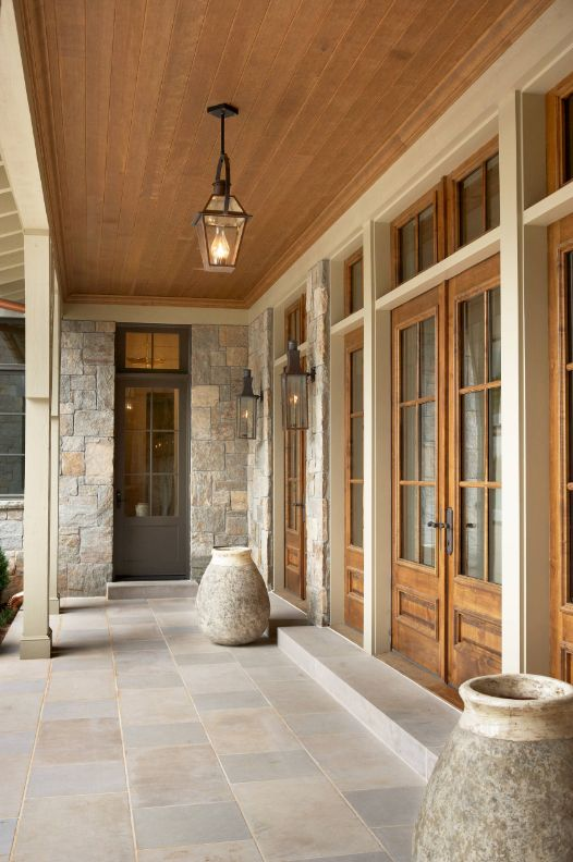 Breezeway french quarter and lanterns on pinterest for Breezeway flooring ideas