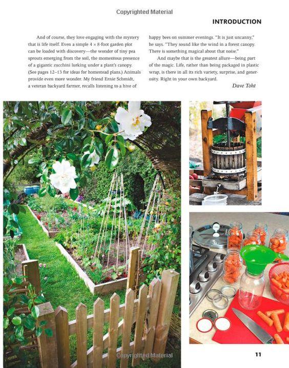 Backyard Farming Books :  toht gardening gardening david and more gardening backyards david book