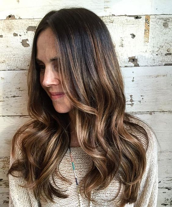 Natural sun kissed balayage