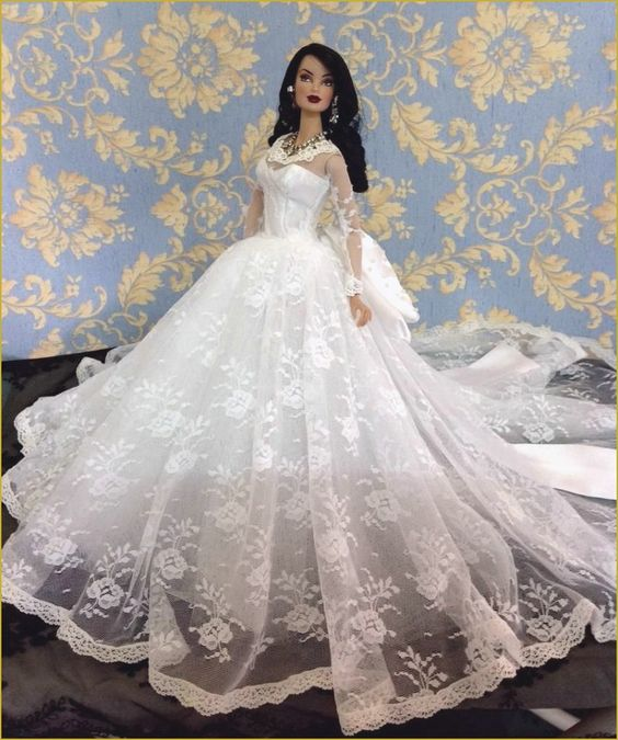 baby-doll-wedding-dresses-luxurious-veronique-s-beautiful-gown-fashion-barbie-beauties-of-baby-doll-wedding-dresses