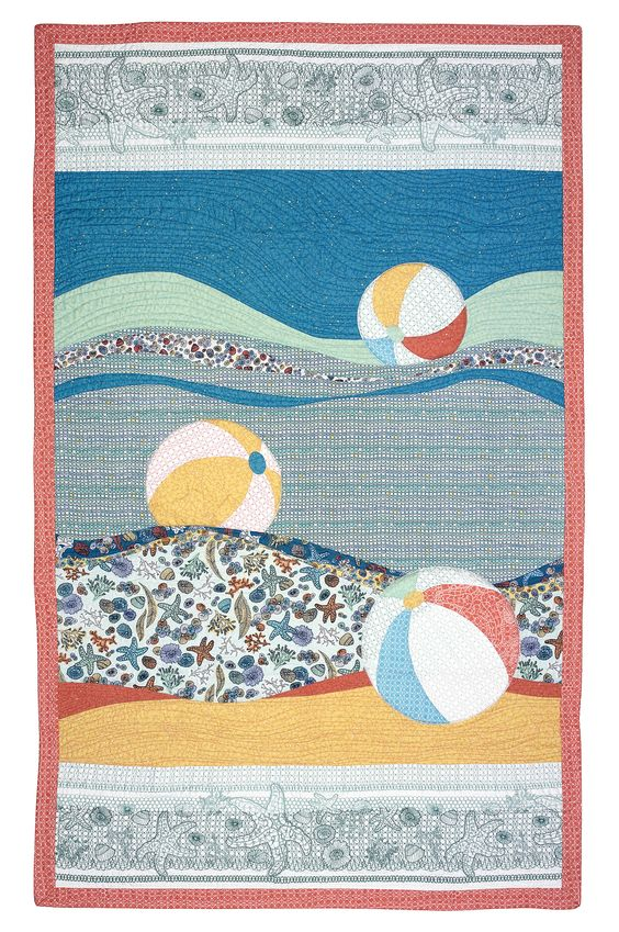 Making Waves quilt pattern by Laura Nownes: