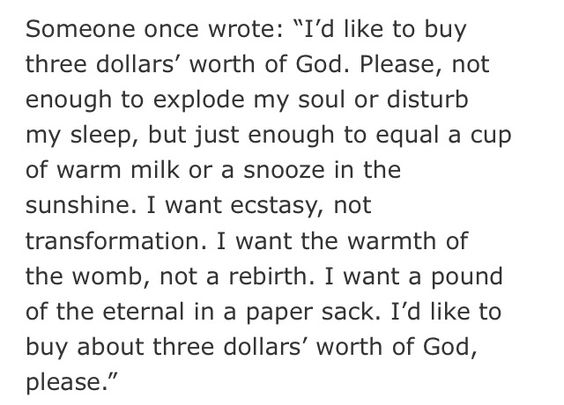 """3 dollar gospel poem""- sad truth for today's culture"
