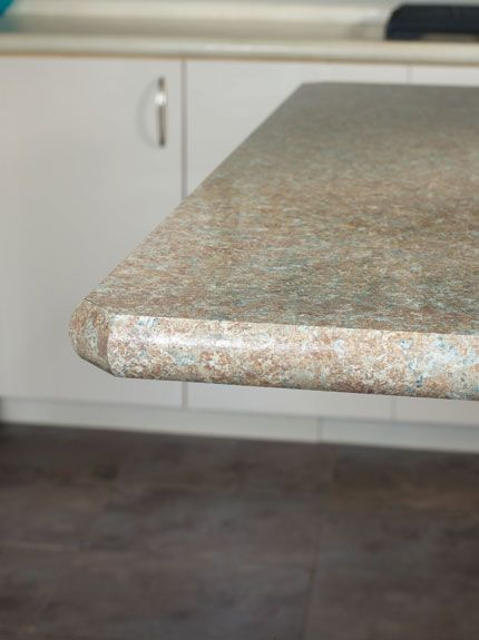 Laminate Countertop Edge Designs : laminate countertop. Color: Sedona Spirit. Edge: Crescent Countertop ...