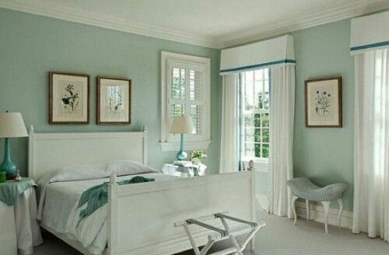 Ideas Decorativas Y 3 Colores Para Cuartos De Parejas Como Decorar Mi Cuarto Master Bedroom Colors Palladian Blue Bedroom Paint Colors