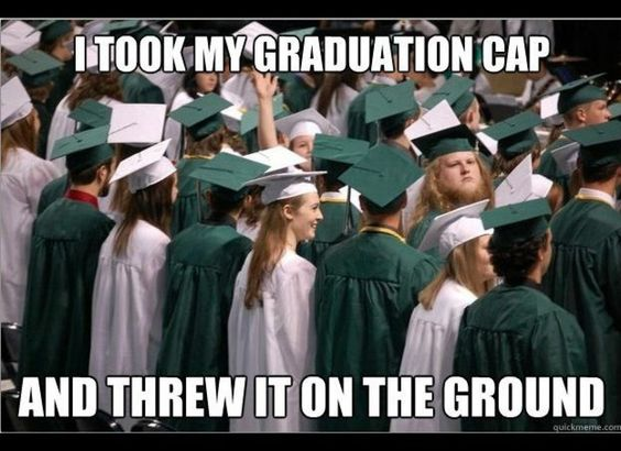 Share your Funny graduation memes