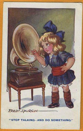 Fred Spurgin card: