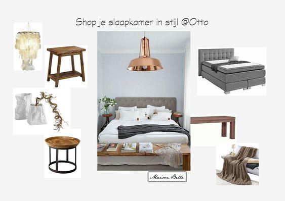 Stijlvolle slaapkamer | Maison Belle  Shop this look @Otto