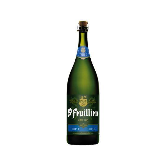 Bia St Feuillien Triple 8,5% - Chai 1500ml